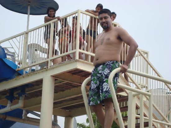 Hotel Balneario San Juan Cosala : trampolin