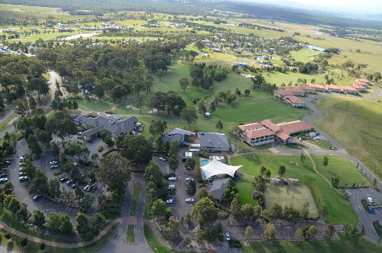 Chateau Elan Hunter Valley: Aerial view of Chateau Elan