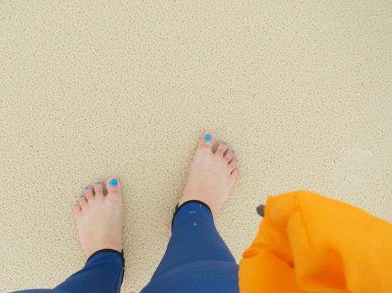 Whitehaven Beach: 98% pure silica sand