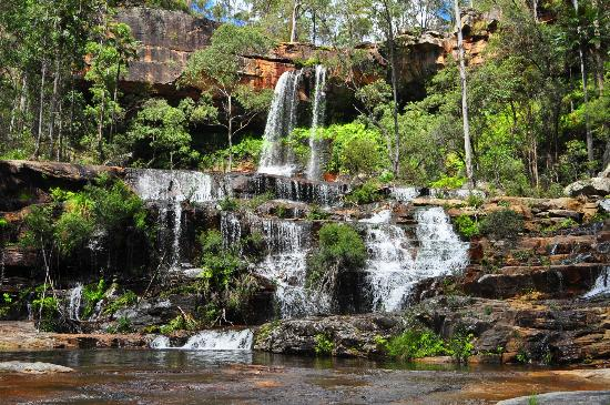 Queensland, Australië: Rainbow Falls