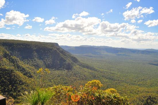Blackdown Tableland National Park: View From Horse Shoe Lookout