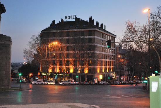 Hotel Puerta De Toledo View Of