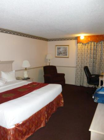 Baymont Inn & Suites Des Moines North : Dated King bedroom