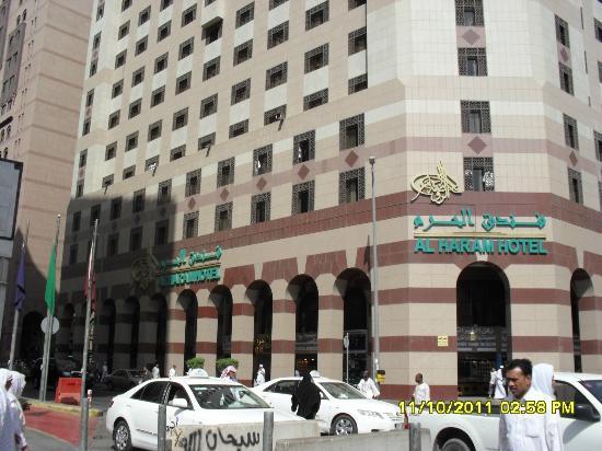 Al Haram Hotel : di hadapan Hotel Al Haram