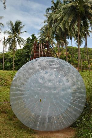 Samui Waterball: The waterball, bigger then it looks !!