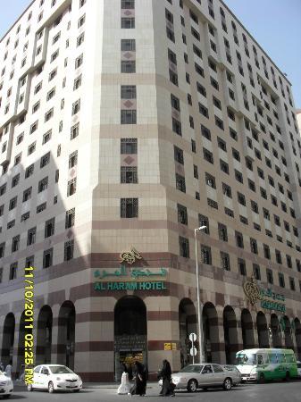 Al Haram Hotel : luar hotel Al Haram
