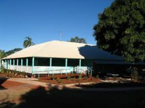 SSJG Heritage Centre Broome: Old convent building wheelchair accessible and toilets