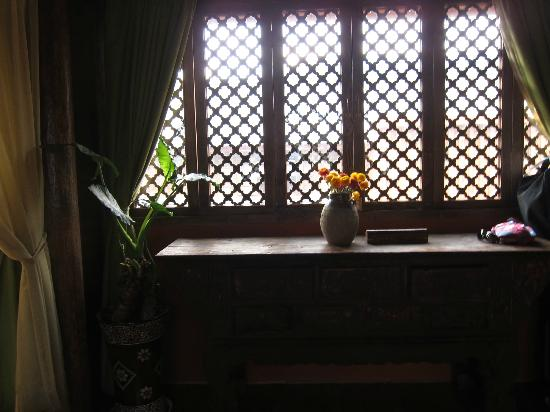 Huifeng Inn Shuhe: window in my room