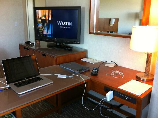 The Westin Washington Dulles Airport: Suite Desk