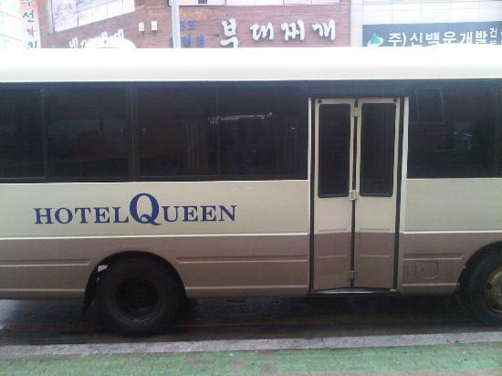 Hotel Queen Incheon Airport: hotel bus