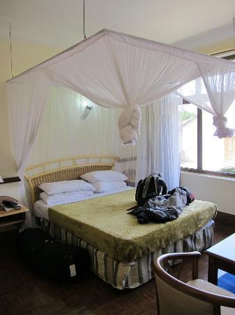 Impala Hotel: Our room!
