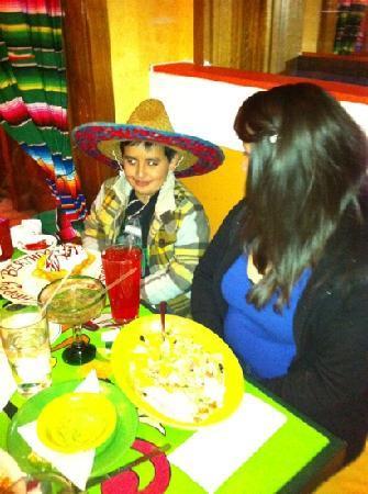 La Fiesta Mexican Restaurant: fiesta time