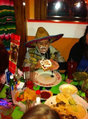 La Fiesta Mexican Restaurant: fiesta time ;-)