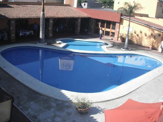 Hacienda La Noria: la piscina