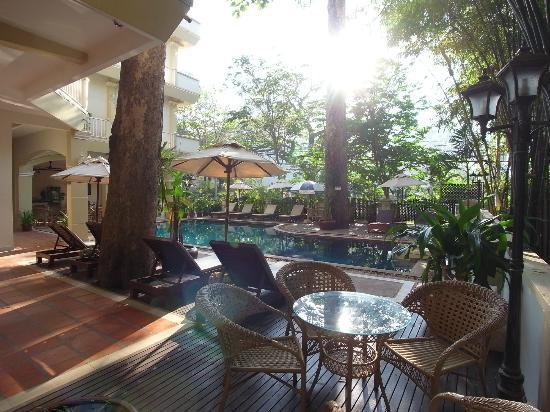 Grand Sunset Angkor Hotel: プール