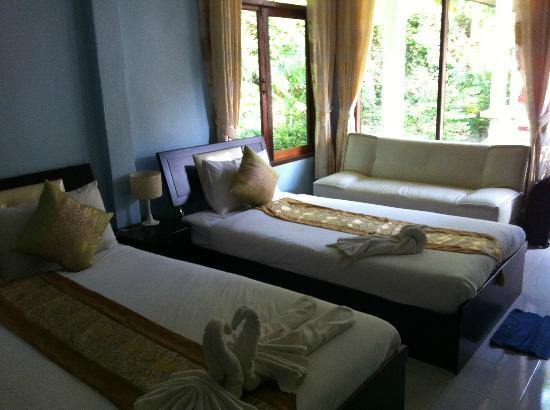 Amantra Resort & Spa: our room for 3 nights