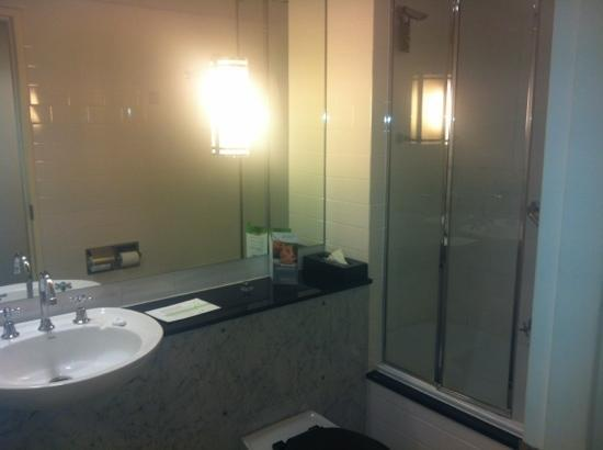 Vibe Savoy Hotel Melbourne : bathroom - VERY small but VERY clean