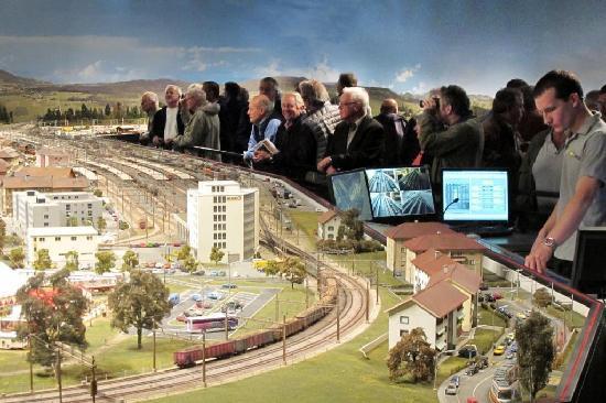 Musee des Chemins de fer du Kaeserberg: De nombreux visiteurs impressionnés