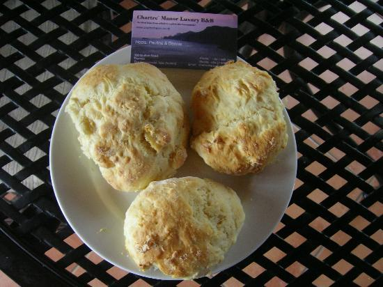 ‪‪Chartre Manor Bed & Breakfast‬: Pauline's Scones‬