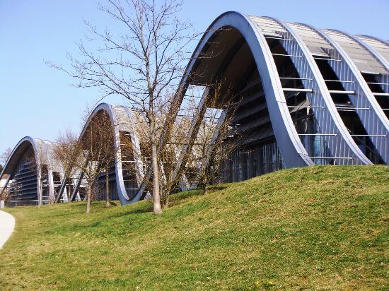 Zentrum Paul Klee (Paul Klee Center): L'ingresso
