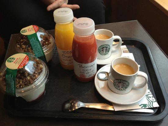Starbucks: En god gang morgenmad