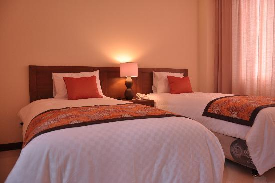 Hotel Dermaga Keluarga : Dermaga Keluarga Deluxe Twin