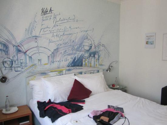 Leonardo Boutique Hotel Rigihof Zurich: bed