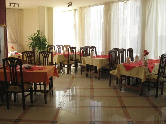 Diana Hotel: Breakfast room