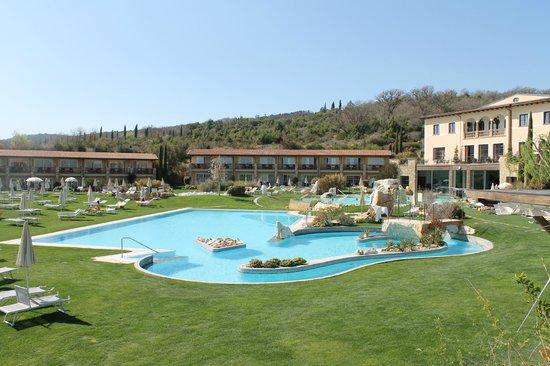 Hotel Adler Thermae Spa & Relax Resort : piscina
