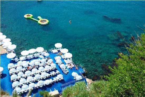 Bilem High Class Hotel: Beach