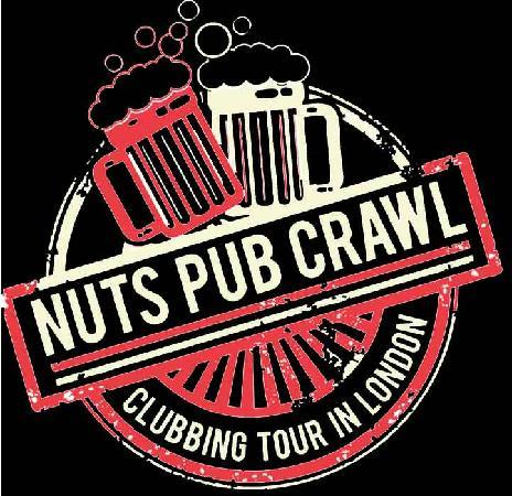 Nuts Pub Crawl London Logo