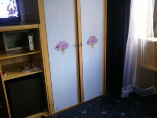Hotel Plinio Au Lac : Particolare armadio camera