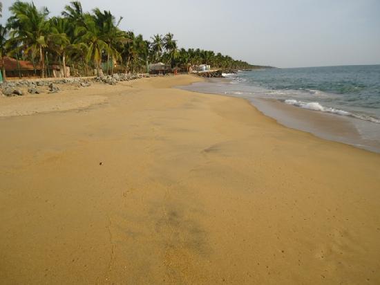 The Cosy Beach: A wide sandy cosy beach
