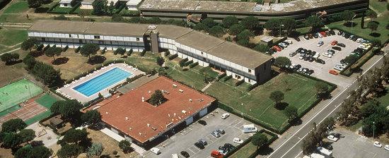 Marina di Bibbona, Italia: Il residence dall'alto