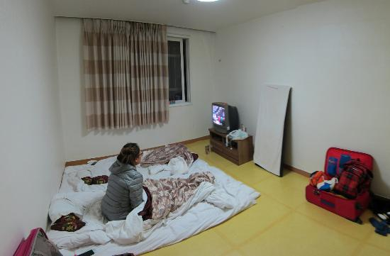 Pyeongchang-gun, South Korea: Ondol room