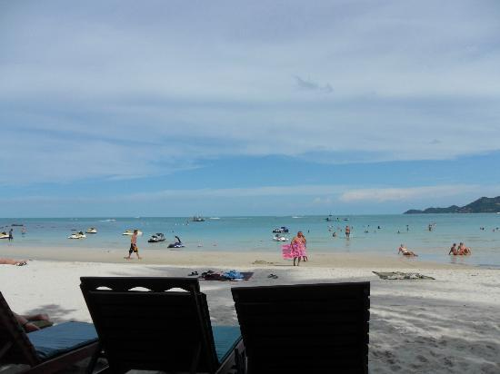 Baan Chaweng Beach Resort & Spa: sat on beach