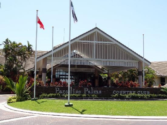 Paradise Palms: entrata principale