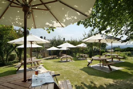 Horse and Groom: The Garden - perfect for summer al fresco dining