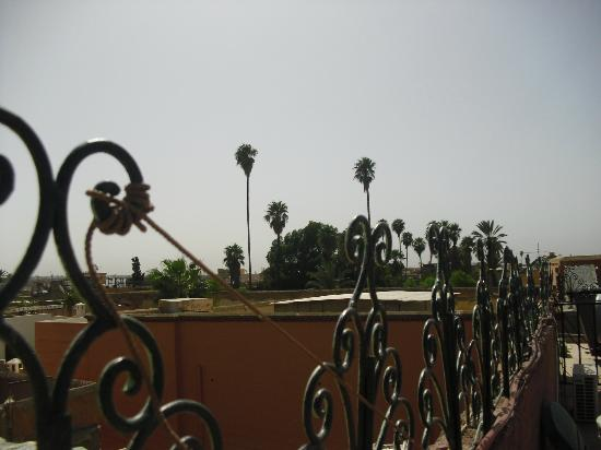 Riad Chennaoui: terrace view