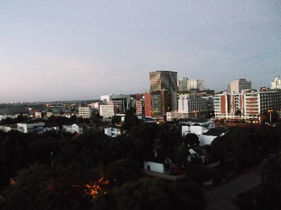 Holiday Inn Harare: View onto Harare from room