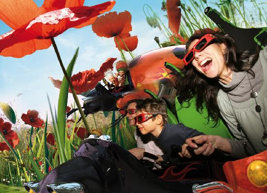 Chasseneuil-du-Poitou, ฝรั่งเศส: Attraction Arthur, l'aventure 4D