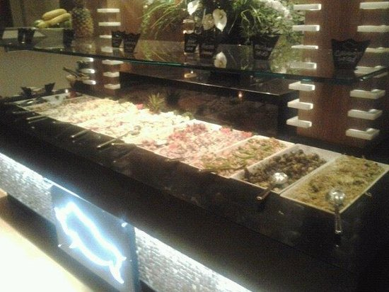 Rodizio Grill: one side of the salad bar