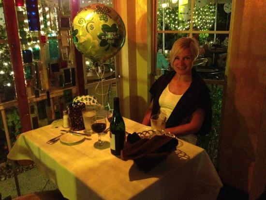 PJ's Seagrille: Dinner at PJs Grille - St Patrick's Day.