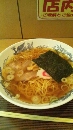 Kashiwaya : ラーメン 330円