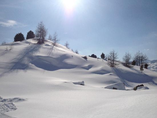 Club Med Saint Moritz Roi Soleil: neige fraiche