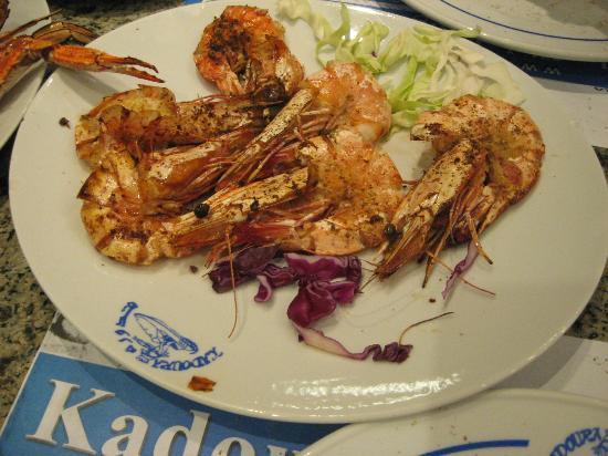 Kadoura Fish Restaurant: Shrimps