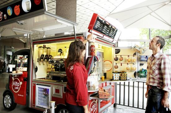 Alto cafe Galeries Lafayette: Alto café aux Galeries Lafayette, bd Haussman