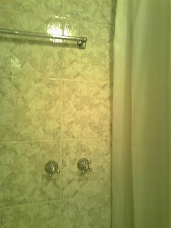 Hotel Gamma: manopole fuori doccia