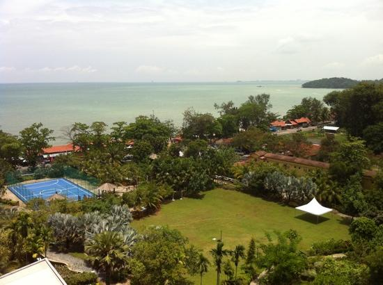 Ancasa Resort AllSuites, Port Dickson : sea view from balcony
