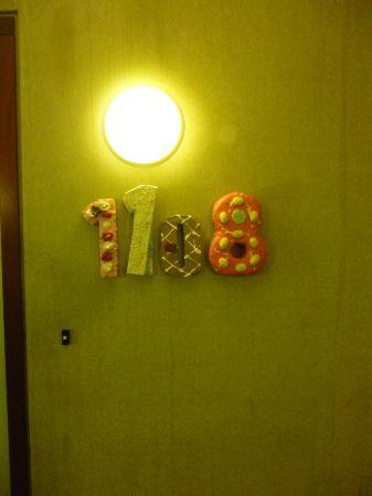 Art Hotel Rotterdam : Numéro de chambre